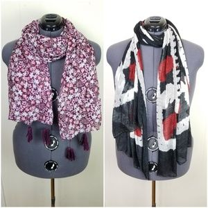 Accessories - Bundle of 10 Assorted Scarves